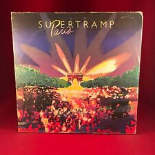 SUPERTRAMP Paris 1980 UK Double vinyl LP EXCELLENT CONDITION Live