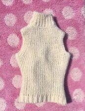 "Tyler Wentworth Cream sleeveless sweater 16"" Doll fits Sybarite AvantGuard"
