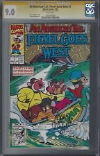 An American Tail: Fievel Goes West #1 CGC 9.0 Signed Don Bluth RARE 1 Of 1