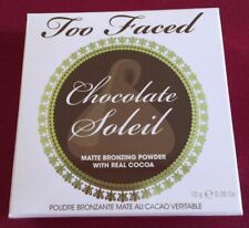 Too Faced Cosmetics Chocolate Soleil Matte Bronzing Powder with Real Cocoa