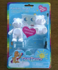 2003 Care Bears Paint Your Own Painting Bears - Tenderheart and Bedtime