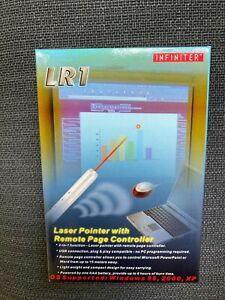 Laser pen pointer with remote page controller, ideal for presenting
