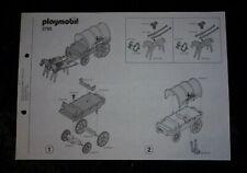 Playmobil Bauanleitung Western 3785 Südstaaten Waffentransport Kutsche ! Nr.2 !