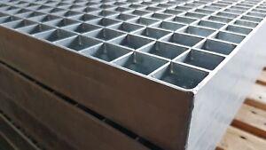 Industrie Gitterrost 500x1000 mm, MW 30/30 mm, Tragstab 50/3 mm befahrbar