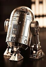 Star Wars Pewter R2D2 Figure / Canister - Officially Licensed by Royal Selangor