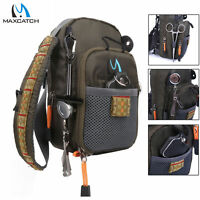 Maxcatch Fly Fishing Chest Bag Chest Pack Outdoor Sports Pack Lightweight