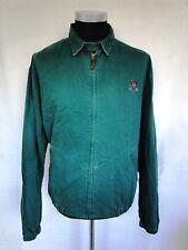 Ralph Lauren Polo Jacke Blouson Sommerjacke Grün Unifarben Gr. L