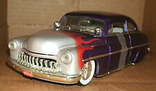 1/18 Scale 1949 Mercury Lead Sled Coupe Model With Flames '49 Merc - Ertl 7123