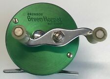 New listing Vintage Bronson Green Hornet No.2200 Level Wind Reel All Functions Work Nice Pcs