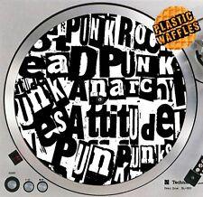 Punk Rock Anarchy Retro Slipmat #4 Turntable 12 LP Record Player DJ Audiophile