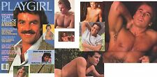 PLAYGIRL 4-85 APRIL 1985 TOM SELLECK HAIRY MARK! DOOL MICHAEL NUDE! TIM HUTTON