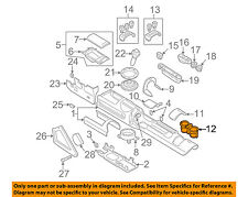 AUDI OEM 00-06 TT Quattro Center Console-Cup Holder 8N0862531A6PS