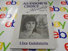 Author's Choice Monthly #3: Lisa Goldstein!! Signed & Limited!! Pulphouse!