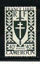 Cameroon Stamps- Scott # 286/A23-40c-Mint/LH-1941-OG