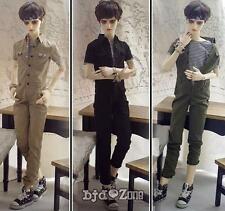 New SD13 SD17 BJD Doll Clothes Overalls Jumpsuit Army green /khaki /Black