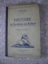 1944 HAAS Histoire du Teritoire de Belfort