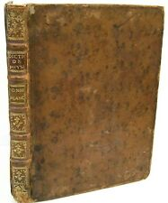 Very Old French Book with 90 Amazing Scientific Copper Plate Engravings  c1780s