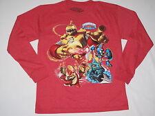 NWOT SKYLANDERS GIANTS shirt long sleeve BOY size L (14-16?) red
