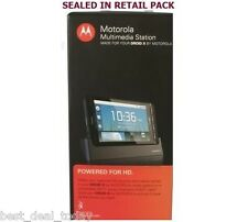 Motorola Droid X Multimedia Station Charging Pod MB-810