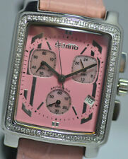 New Rare Ladies Giantto Angelina Pink Chronograph Watch
