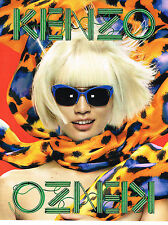 PUBLICITE ADVERTISING  2013   KENZO   haute couture collection optique