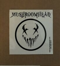 MUSHROOMHEAD DECAL STICKER Metal BAND Logo Window clear official Rare CD Promo