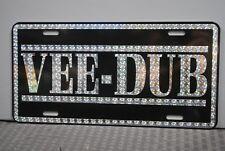 RETRO 1970'S PRISM VEE DUB METAL LICENSE PLATE VW VOLKSWAGEN BEETLE BUG BUS