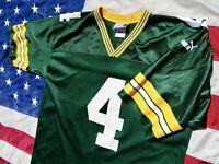 Vintage Puma Green Bay Packers Brett Favre NFL Football Jersey Mens Large EUC