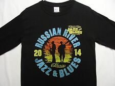 RUSSIAN RIVER JAZZ & BLUES FESTIVAL - CALIFORNIA - 2XL SIZE LONG SLEEVE T-SHIRT!