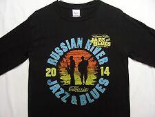 RUSSIAN RIVER JAZZ & BLUES FESTIVAL - CALIFORNIA - 3XL SIZE LONG SLEEVE T-SHIRT!