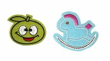Cute Embroidery Sew, Iron On Patch for Baby Clothes, Jeans, Fabric Applique DIY