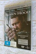 Robin Hood- DIRECTOR'S CUT (DVD) R:2+4+5, LIKE NEW, FREE SHIPPING IN AUSTRALIA