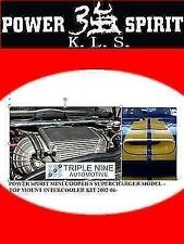 KLS MINI COOPER S SUPERCHARGER MODEL TOP MOUNT INTERCOOLER KIT 2002-06 M7 SPEC