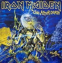"LP IRON MAIDEN ""LIVE AFTER DEATH - 2VINILOS"". Nuevo"