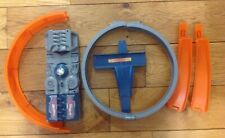 Vintage Hot Wheels Car Launcher Motorized Speed Booster Gray 2002 w/ extras