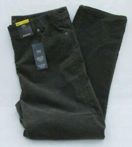 Marks /& Spencer Copper Orange Stretch Corduroy Straight Leg Jeans Plus Size 18