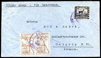 BOLIVIA TO GERMANY, LAB-CONDOR Cover, 1939, VF