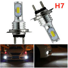 H7 35W LED Headlights Bulbs Kit Hi/Lo Beam 4000LM Super Bright 6000K White CSP
