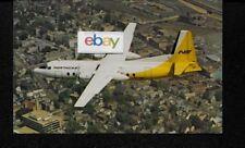 NORTHEAST AIRLINES FAIRCHILD FH-227 YELLOWBIRD LIVERY POSTCARD