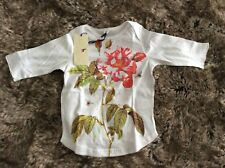 Stella McCartney Designer Girl's 3/4 Sleeve T-Shirt Size 4 Year