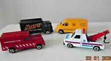 Vintage CORGI Joblot of 4 Cars--3 Recovery Vehicles and Mars Delivery Van