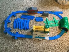 Thomas Train Tomy Blue PlasticTrack,Tunnels, Curves, Sodor, Airport, Buildings