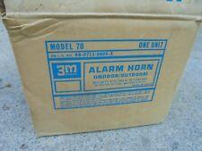 Vintage 3M Model 70 Alarm Horn Indoor/Outdoor
