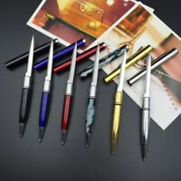 Portable Ballpoint Pen Knife Letter Opener Cutter Metal Office Outdoor Multitool