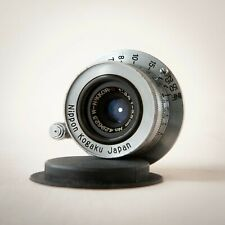 Nippon Kogaku Japan Nikon W-Nikkor C Vintage 3.5cm 35mm f3.5 Camera Lens