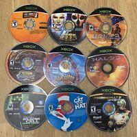 Lot 26 Xbox Games - Disc Only - No Case & Manual - Halo Star War Splinter Cell