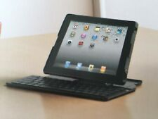 Logitech Fold-Up Keyboard for iPad-2 Tastatur - drahtlos - Bluetooth
