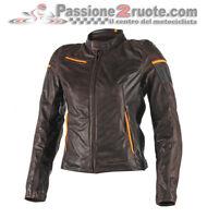 Lady leather moto jacket Dainese Michelle