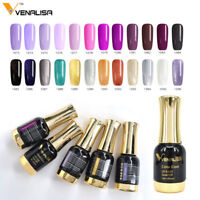 Artlalic 12ML Soak Off  UV Gel Venalisa Nail Varnish Paint Shimmer Gel Top Coat