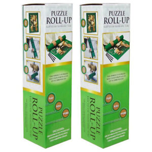 2PK Crown 120cm Roll Up Mat Tube/Storage w/ Straps f/ 2000 Jigssaw Puzzle Pieces